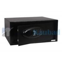 Elektroonilise lukustusega hotelli seif, must