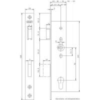Lukukorpus Nemef 9603/08 (9 mm kara, EI60)